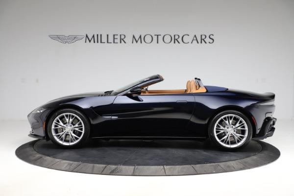 New 2021 Aston Martin Vantage Roadster Convertible for sale $205,686 at Alfa Romeo of Westport in Westport CT 06880 2