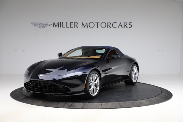 New 2021 Aston Martin Vantage Roadster Convertible for sale $205,686 at Alfa Romeo of Westport in Westport CT 06880 24