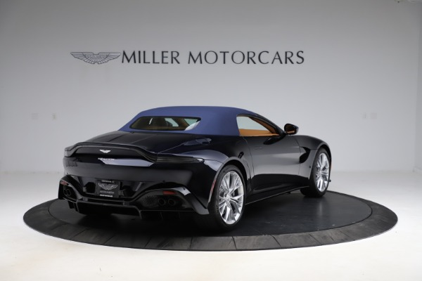 New 2021 Aston Martin Vantage Roadster Convertible for sale $205,686 at Alfa Romeo of Westport in Westport CT 06880 27