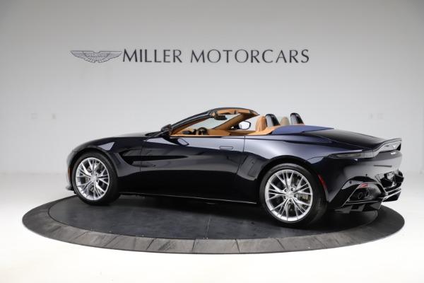 New 2021 Aston Martin Vantage Roadster Convertible for sale $205,686 at Alfa Romeo of Westport in Westport CT 06880 3
