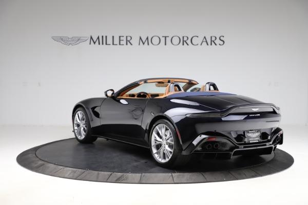 New 2021 Aston Martin Vantage Roadster Convertible for sale $205,686 at Alfa Romeo of Westport in Westport CT 06880 4