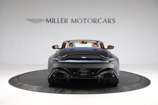 New 2021 Aston Martin Vantage Roadster Convertible for sale $205,686 at Alfa Romeo of Westport in Westport CT 06880 5
