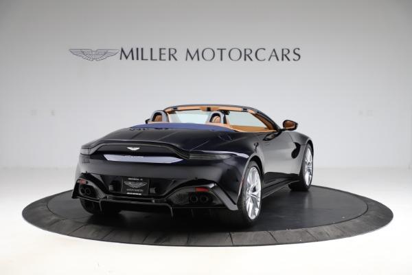 New 2021 Aston Martin Vantage Roadster Convertible for sale $205,686 at Alfa Romeo of Westport in Westport CT 06880 6