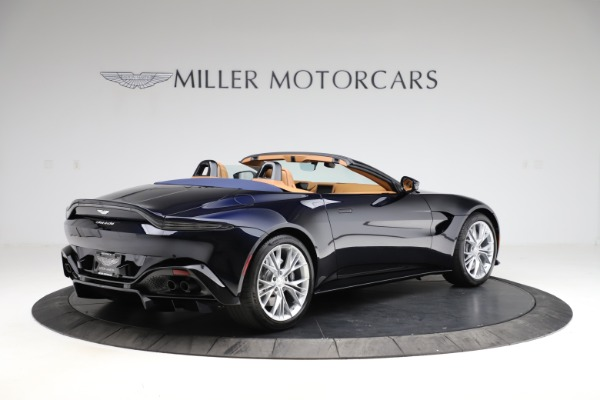 New 2021 Aston Martin Vantage Roadster Convertible for sale $205,686 at Alfa Romeo of Westport in Westport CT 06880 7