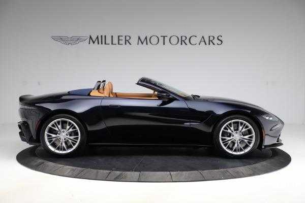New 2021 Aston Martin Vantage Roadster Convertible for sale $205,686 at Alfa Romeo of Westport in Westport CT 06880 8