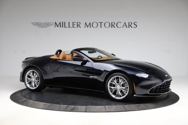 New 2021 Aston Martin Vantage Roadster Convertible for sale $205,686 at Alfa Romeo of Westport in Westport CT 06880 9