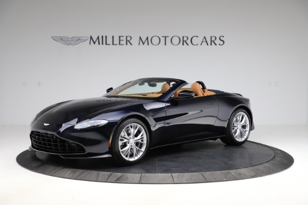 New 2021 Aston Martin Vantage Roadster Convertible for sale $205,686 at Alfa Romeo of Westport in Westport CT 06880 1