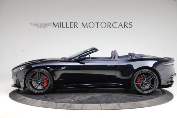 New 2021 Aston Martin DBS Superleggera Volante for sale $402,286 at Alfa Romeo of Westport in Westport CT 06880 2