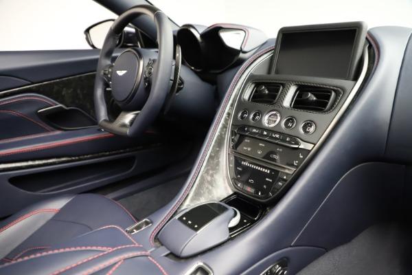 New 2021 Aston Martin DBS Superleggera Volante for sale $402,286 at Alfa Romeo of Westport in Westport CT 06880 24