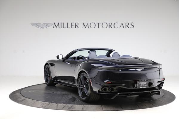 New 2021 Aston Martin DBS Superleggera Volante for sale $402,286 at Alfa Romeo of Westport in Westport CT 06880 4