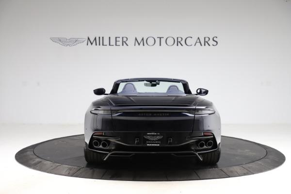 New 2021 Aston Martin DBS Superleggera Volante for sale $402,286 at Alfa Romeo of Westport in Westport CT 06880 5