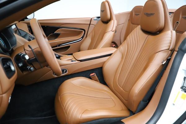 New 2021 Aston Martin DB11 Volante for sale $269,486 at Alfa Romeo of Westport in Westport CT 06880 21