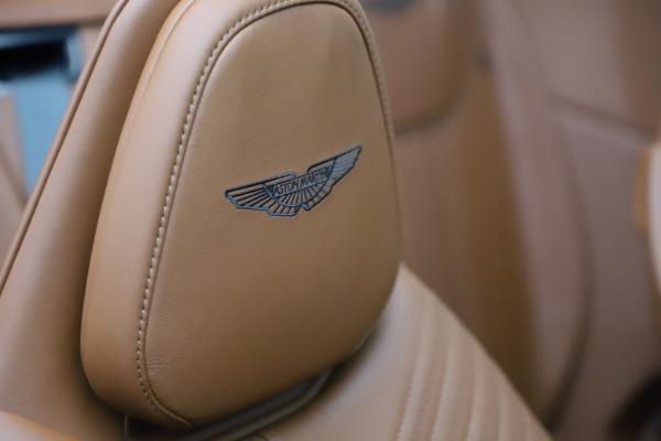 New 2021 Aston Martin DB11 Volante for sale $269,486 at Alfa Romeo of Westport in Westport CT 06880 26