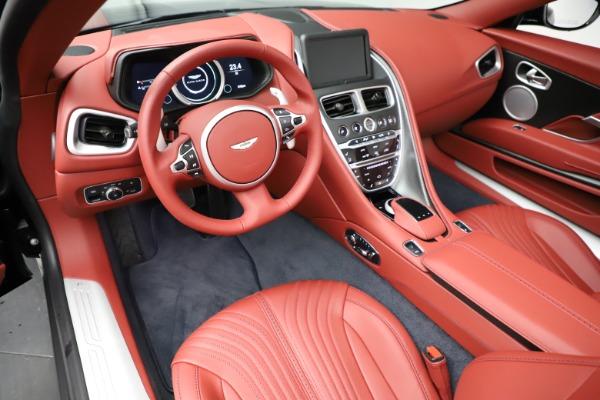 New 2021 Aston Martin DB11 Volante Convertible for sale $261,486 at Alfa Romeo of Westport in Westport CT 06880 13
