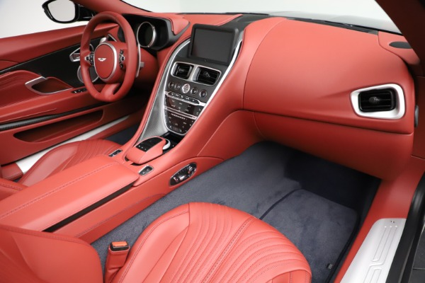 New 2021 Aston Martin DB11 Volante Convertible for sale $261,486 at Alfa Romeo of Westport in Westport CT 06880 20