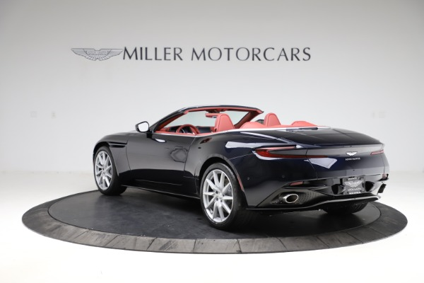 New 2021 Aston Martin DB11 Volante Convertible for sale $261,486 at Alfa Romeo of Westport in Westport CT 06880 4