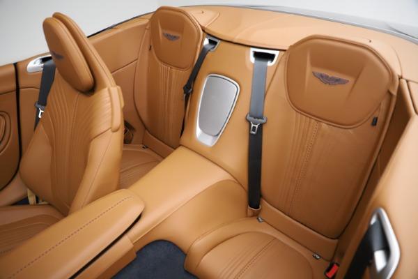New 2021 Aston Martin DB11 Volante for sale $265,186 at Alfa Romeo of Westport in Westport CT 06880 17
