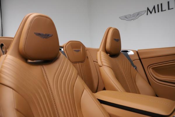 New 2021 Aston Martin DB11 Volante for sale $265,186 at Alfa Romeo of Westport in Westport CT 06880 19