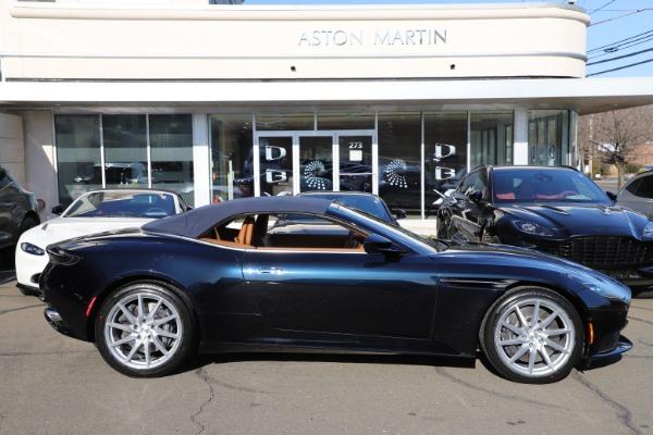 New 2021 Aston Martin DB11 Volante for sale $265,186 at Alfa Romeo of Westport in Westport CT 06880 27