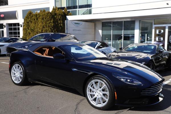 New 2021 Aston Martin DB11 Volante for sale $265,186 at Alfa Romeo of Westport in Westport CT 06880 28