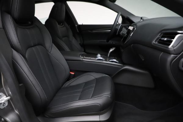 New 2021 Maserati Ghibli S Q4 GranSport for sale $98,125 at Alfa Romeo of Westport in Westport CT 06880 23