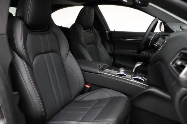 New 2021 Maserati Ghibli S Q4 GranSport for sale $98,125 at Alfa Romeo of Westport in Westport CT 06880 24