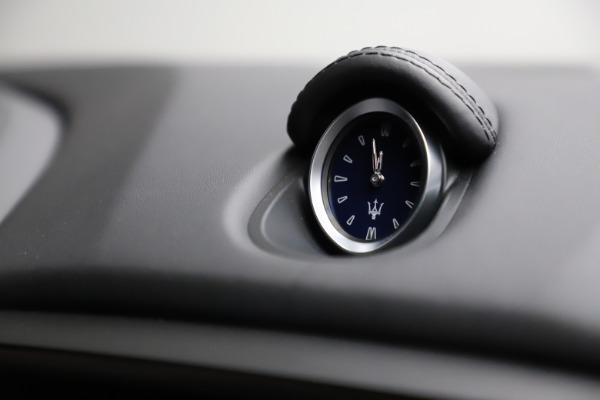 New 2021 Maserati Ghibli S Q4 GranSport for sale $98,125 at Alfa Romeo of Westport in Westport CT 06880 25