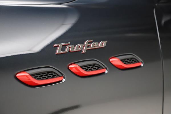 New 2021 Maserati Levante Trofeo for sale $155,035 at Alfa Romeo of Westport in Westport CT 06880 14