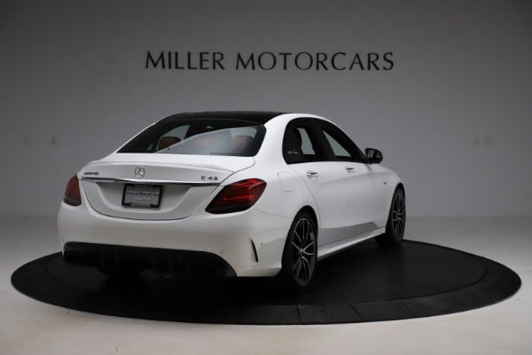 Used 2019 Mercedes-Benz C-Class AMG C 43 for sale $51,900 at Alfa Romeo of Westport in Westport CT 06880 8