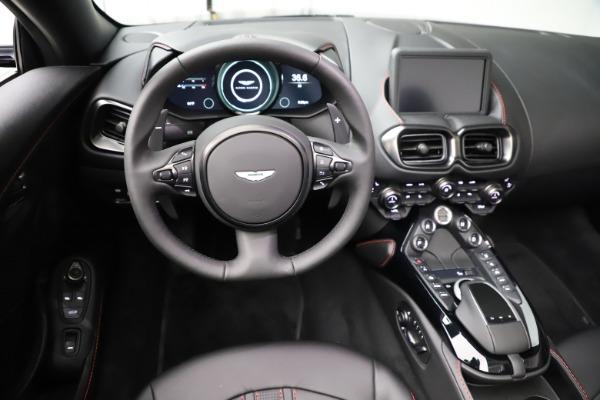 New 2021 Aston Martin Vantage Roadster Convertible for sale $189,186 at Alfa Romeo of Westport in Westport CT 06880 17