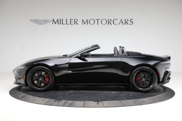 New 2021 Aston Martin Vantage Roadster Convertible for sale $189,186 at Alfa Romeo of Westport in Westport CT 06880 2