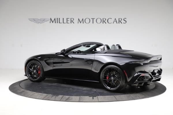 New 2021 Aston Martin Vantage Roadster Convertible for sale $189,186 at Alfa Romeo of Westport in Westport CT 06880 3