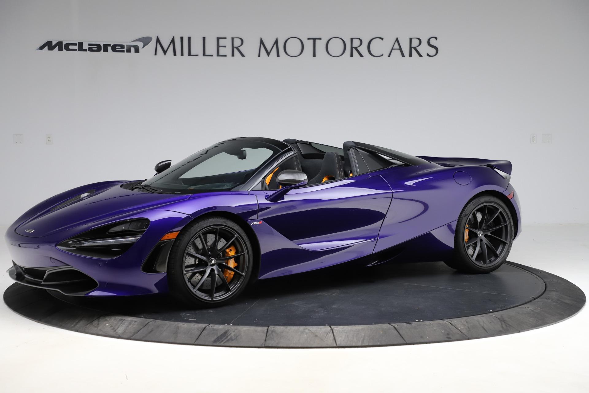 Used 2020 McLaren 720S Spider for sale $324,990 at Alfa Romeo of Westport in Westport CT 06880 1