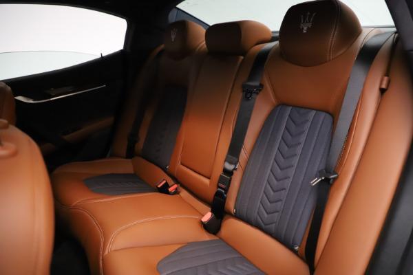 Used 2018 Maserati Ghibli SQ4 GranLusso for sale $51,900 at Alfa Romeo of Westport in Westport CT 06880 19