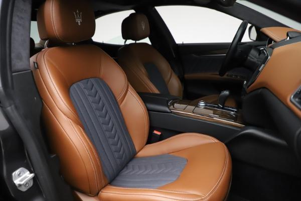 Used 2018 Maserati Ghibli SQ4 GranLusso for sale $51,900 at Alfa Romeo of Westport in Westport CT 06880 23