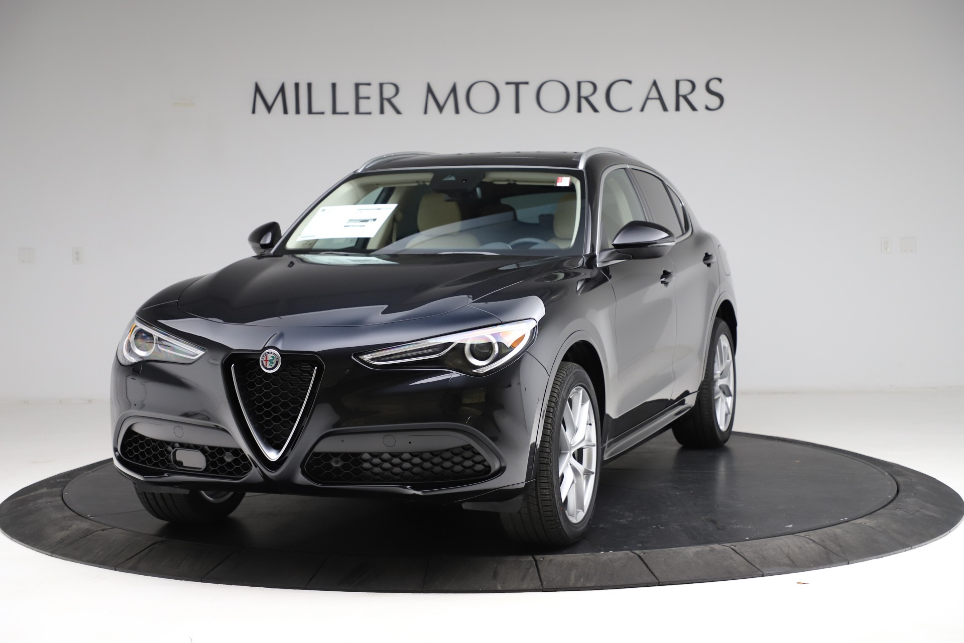 New 2021 Alfa Romeo Stelvio Ti Lusso Q4 for sale $57,750 at Alfa Romeo of Westport in Westport CT 06880 1