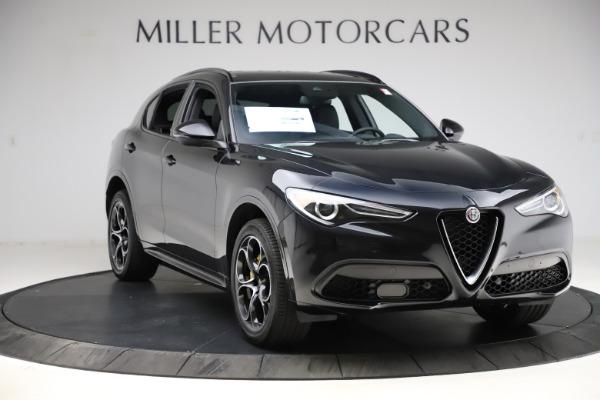 New 2021 Alfa Romeo Stelvio Ti Sport Q4 for sale Sold at Alfa Romeo of Westport in Westport CT 06880 11