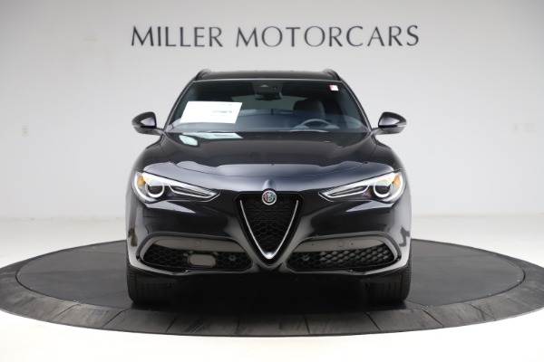 New 2021 Alfa Romeo Stelvio Ti Sport Q4 for sale $54,950 at Alfa Romeo of Westport in Westport CT 06880 12