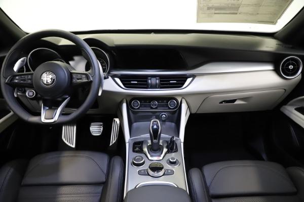 New 2021 Alfa Romeo Stelvio Ti Sport Q4 for sale $54,950 at Alfa Romeo of Westport in Westport CT 06880 16