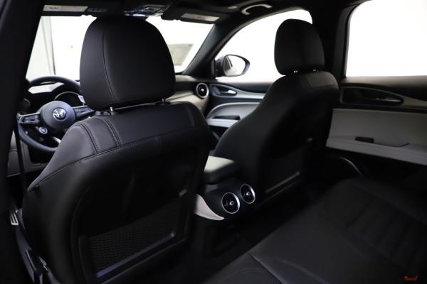New 2021 Alfa Romeo Stelvio Ti Sport Q4 for sale Sold at Alfa Romeo of Westport in Westport CT 06880 20