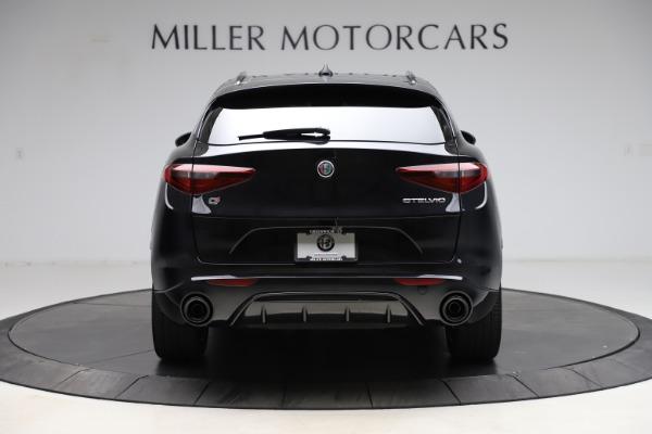 New 2021 Alfa Romeo Stelvio Ti Sport Q4 for sale $54,950 at Alfa Romeo of Westport in Westport CT 06880 6