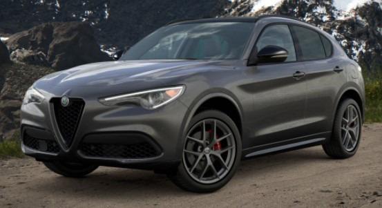 New 2021 Alfa Romeo Stelvio Ti Sport Q4 for sale $56,750 at Alfa Romeo of Westport in Westport CT 06880 1