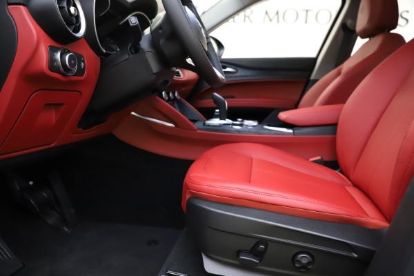 New 2021 Alfa Romeo Stelvio Q4 for sale $48,645 at Alfa Romeo of Westport in Westport CT 06880 13