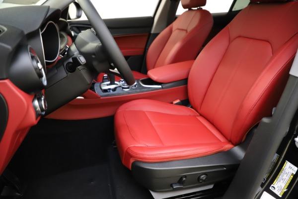 New 2021 Alfa Romeo Stelvio Q4 for sale $48,645 at Alfa Romeo of Westport in Westport CT 06880 14