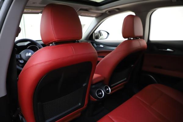 New 2021 Alfa Romeo Stelvio Q4 for sale $48,645 at Alfa Romeo of Westport in Westport CT 06880 19