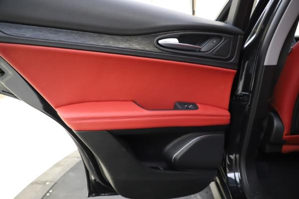 New 2021 Alfa Romeo Stelvio Q4 for sale $48,645 at Alfa Romeo of Westport in Westport CT 06880 20