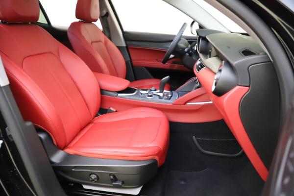 New 2021 Alfa Romeo Stelvio Q4 for sale $48,645 at Alfa Romeo of Westport in Westport CT 06880 23
