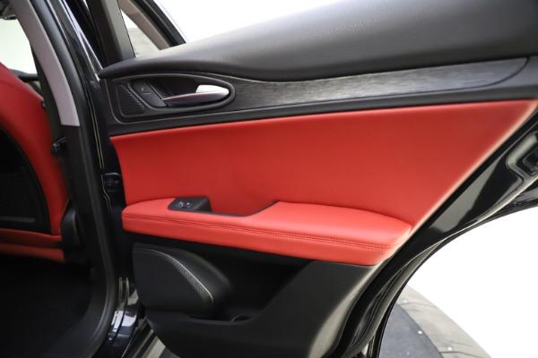 New 2021 Alfa Romeo Stelvio Q4 for sale $48,645 at Alfa Romeo of Westport in Westport CT 06880 28