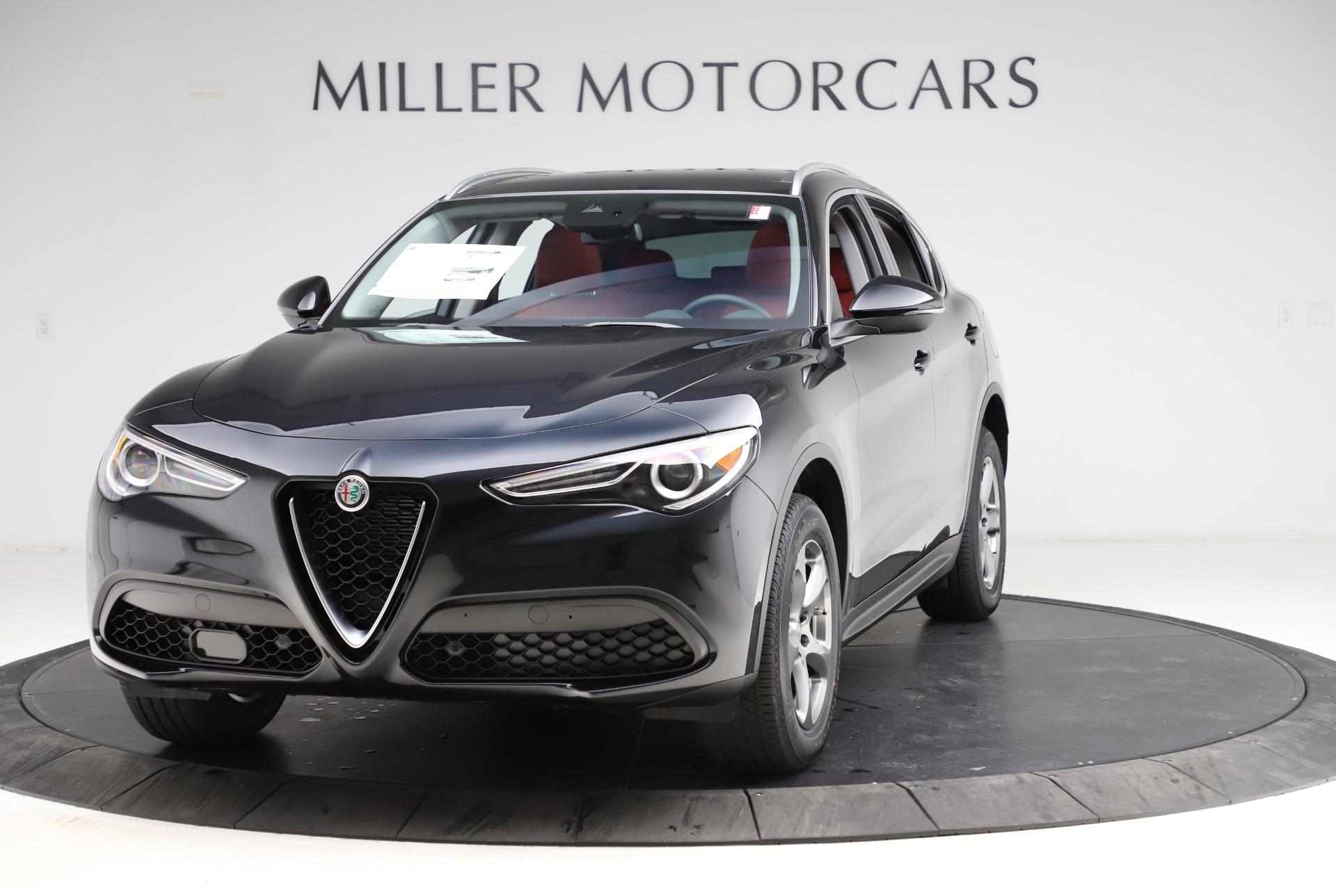 New 2021 Alfa Romeo Stelvio Q4 for sale $48,645 at Alfa Romeo of Westport in Westport CT 06880 1