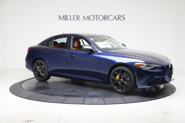 New 2021 Alfa Romeo Giulia Ti Q4 for sale $51,100 at Alfa Romeo of Westport in Westport CT 06880 10